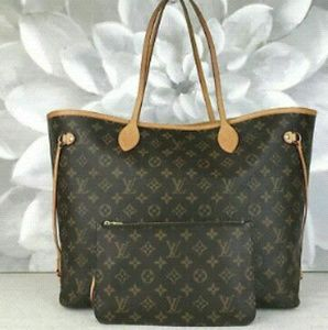 Louis Vuitton Coated Canvas Neverfull GM Bag
